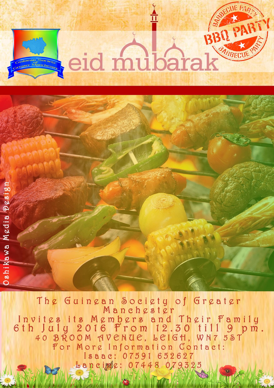 EID MUBARAK BBQ 2016